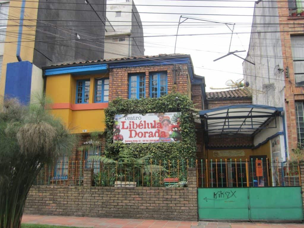 Teatro Libelula Dorado 2
