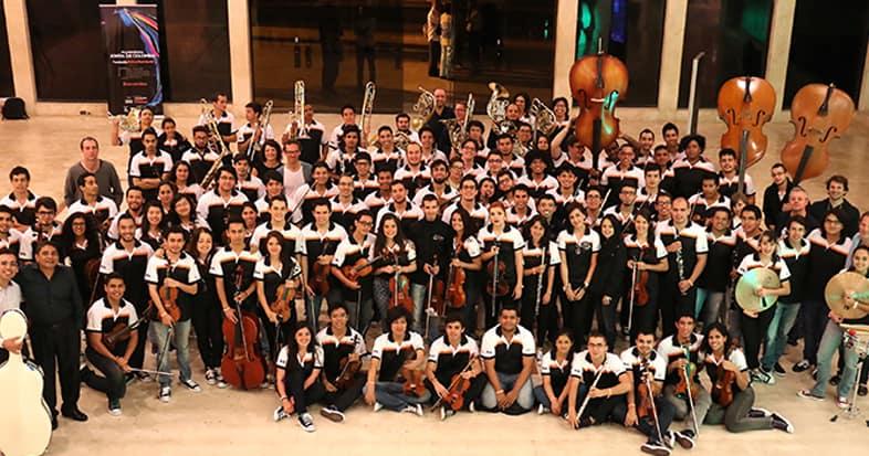 La Filarmónica Joven de Colombia en el Teatro Maypr Julio Mario Santo Domingo