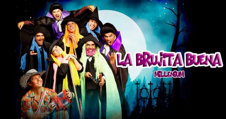 #MejorProducciónFamiliarInfantil: 'La brujita buena millenium'